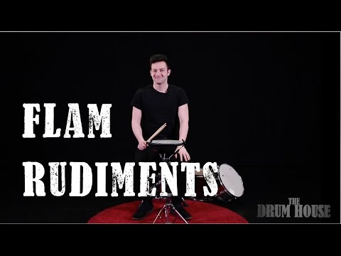 Alessandro Lombardo - Hands workout: Flam Rudiments (From 70 to 120)