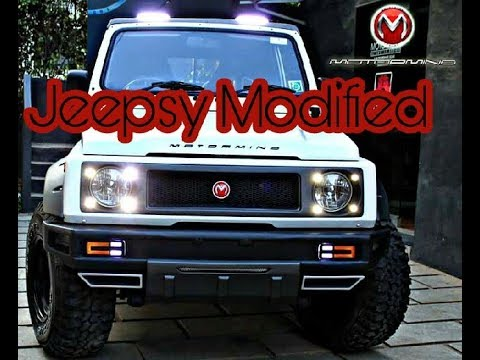 GYPSY modified india ।best modification