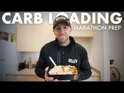 My Carbohydrate Loading Plan Prior To My Marathon