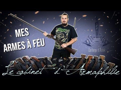 Ma collection d'armes à feu !