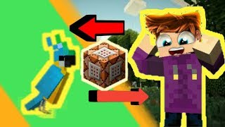 How To Turn Into Any Mobs (COMMAND BLOCK TRICK) In MINECRAFT POCKET EDITION 1.2 BETA