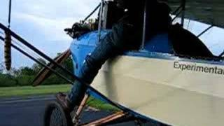 Getting in the Pietenpol Air Camper - What a Challenge