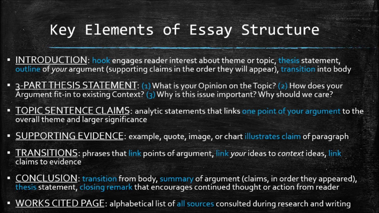 Deciding a major essay