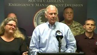 South Carolina governor talks about response to Florence