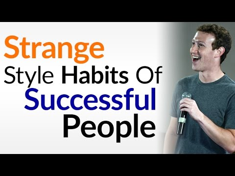 Strange Style Habits Of Successful People | Smart Men Own Less Clothing? | Interchangeable Wardrobe