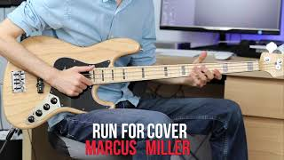 Run For Cover - Marcus Miller - Solo Bass Performans