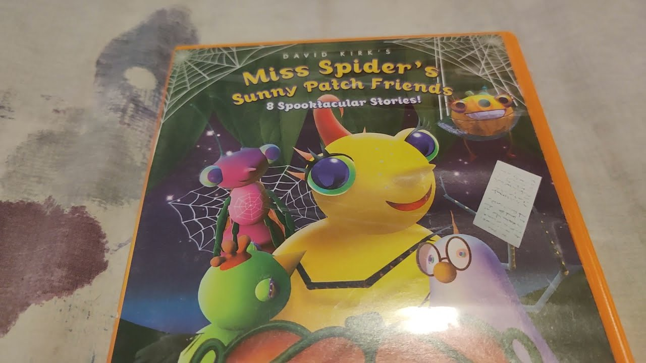 Download Miss Spider's Sunny Patch Friends - Bug-A-Boo Day Play DVD Overview!