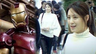 Repeat youtube video 수현(Soo Hyun), '어벤져스2'(Avengers2) 런던 첫 촬영...아이언맨과 무슨 관계?