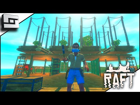 How To Get All The Wood In Raft The First Chapter! Raft Game E5