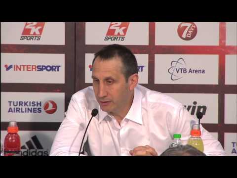 Coach David Blatt press conference after the Championship Game ...