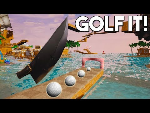 EL CUCHILLO GIGANTE! - GOLF IT