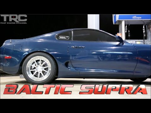 Baltic Supra battles 1000whp Porsche Turbo