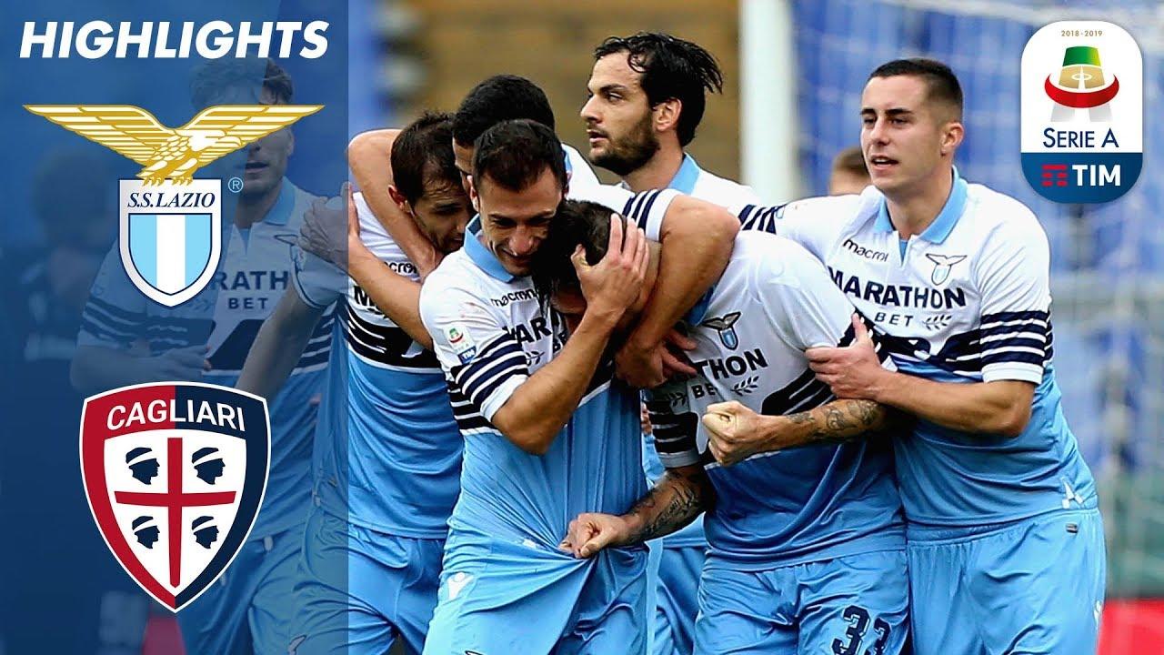 Lazio 3-1 Cagliari | Lazio End 7 Match Winless Run With ...
