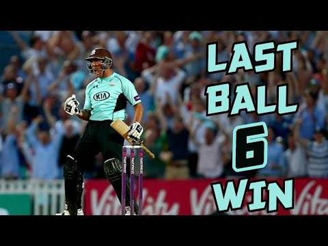 Thumbnail: Last Ball 6 to Win a Match in Cricket ► Batsman Finishes it with Style ◄