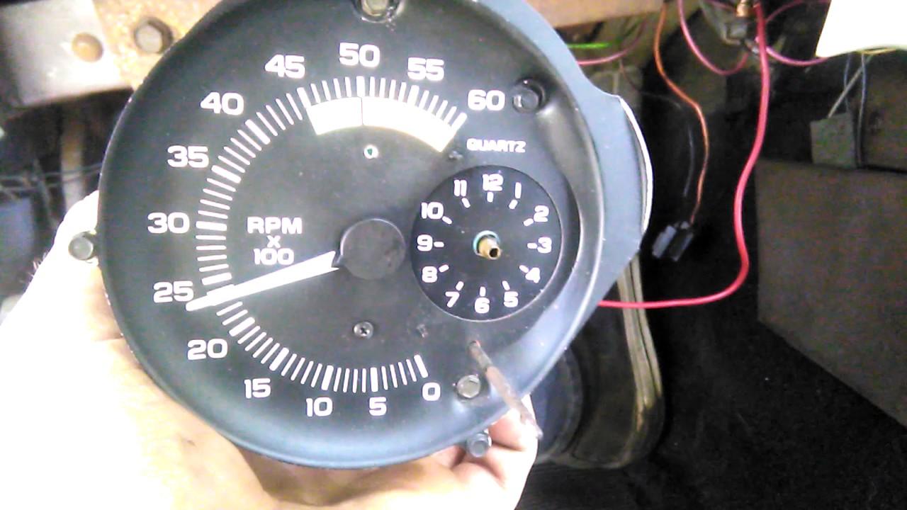 medium resolution of 1979 pontiac firebird tachometer fix