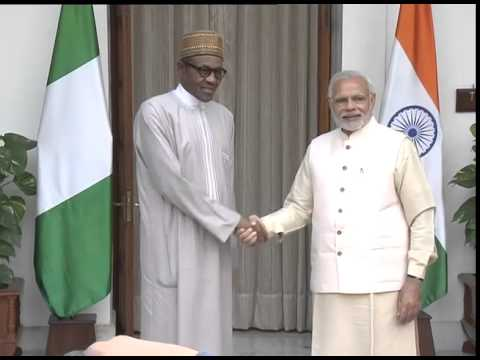 PM meeting Prez of the Federal Republic of Nigeria