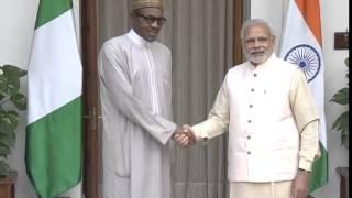 PM meeting Prez of the Federal Republic of Nigeria