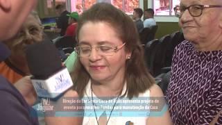 Direção do Lar Santa Clara de Assis apresenta projeto de evento para recolher Fundos para manutenção