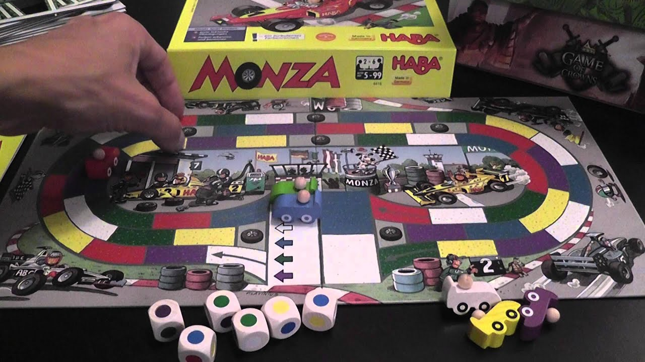 Monza (Haba Game) Review - YouTube