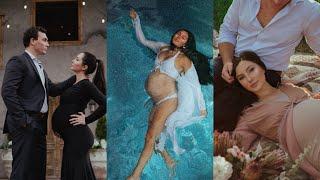 VLOG 111: BTS of a Maternity Shoot (mom falls in)
