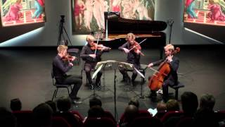 The Danish String Quartet plays Beethoven