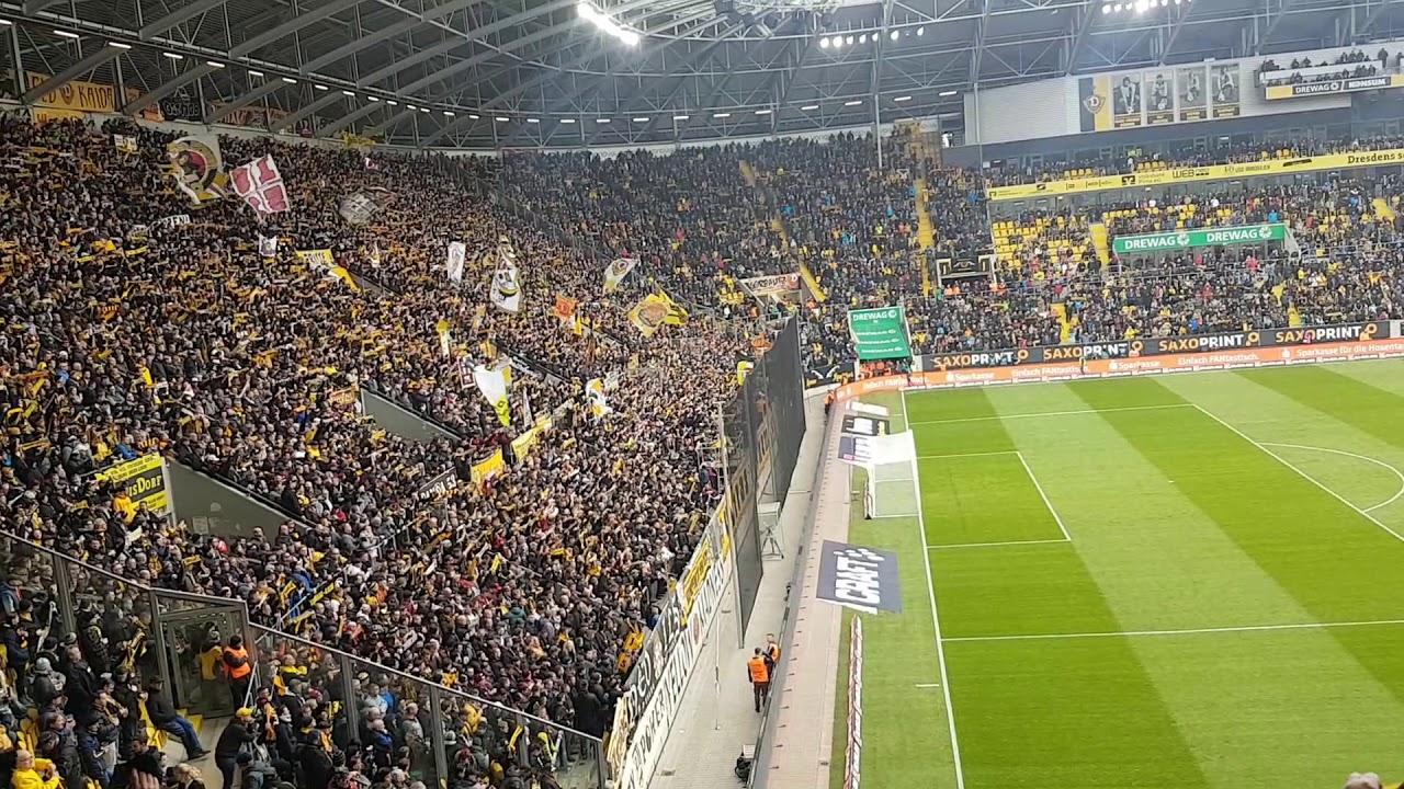 Dresden Gegen Aue 2020