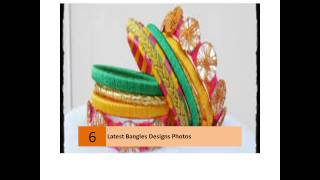 Latest Bangles Designs Photos