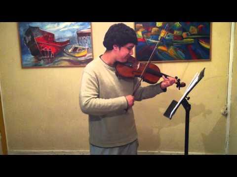 violín - Joaquín Evens- Mancera 2012