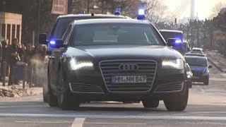 VIP-Eskorte Bundespräsident Gauck Frankfurt thumbnail