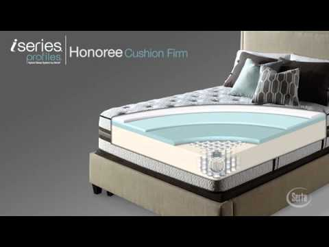 Serta Iseries Profiles Honoree Cushion Firm Mattress National Video