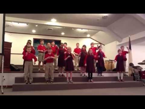 Yorktown, Va Summit Christian Academy's 3rd graders present