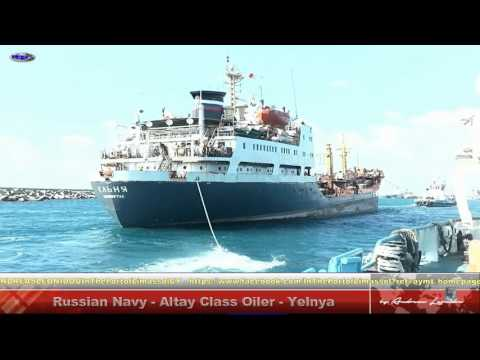 Russian Navy  - Altay Class Oiler  Yel