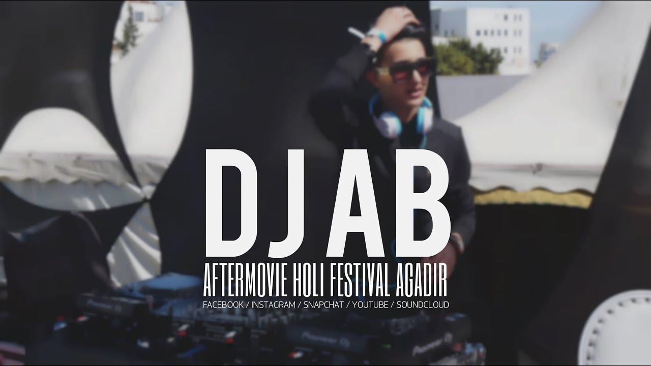 DJ AB - FESTIVAL HOLI AGADIR 2018