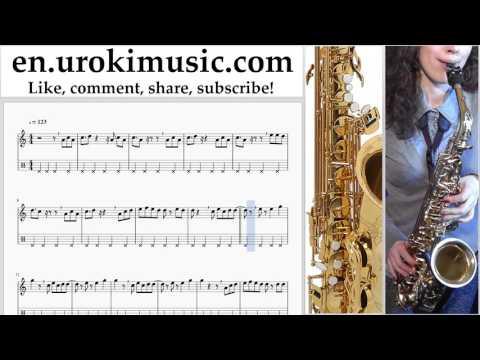 Saxophone lessons (Alto) Jonas Blue, EDX, Alex Mills - Don't Call It Love Sheet Music Tutorial um