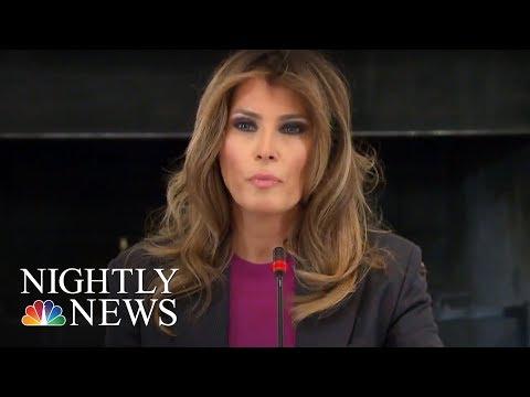 Download Youtube: Melania Trump Addresses Critics At Cyberbullying Summit | NBC Nightly News