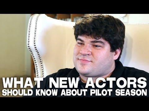 What New Actors Should Know About Pilot Season by Michael Barra