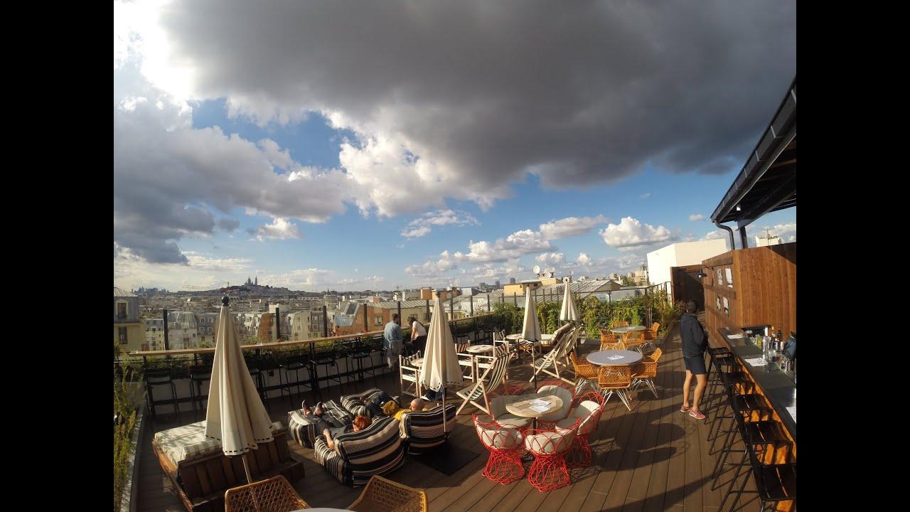 Generator Hostel Paris Le Rooftop Terrace Youtube