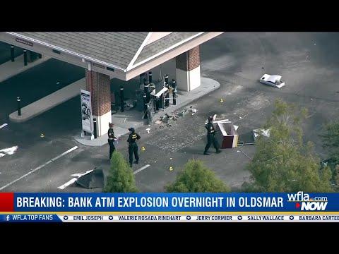 Florida News - Florida Bank ATM Explodes Overnight