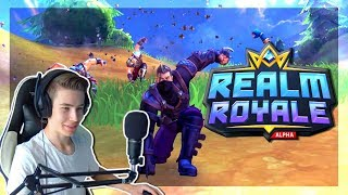 A NEW FORTNITE COPY! -REALM ROYALE