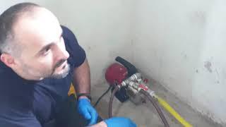 Pompa ile Şerbet Verme Sistemi