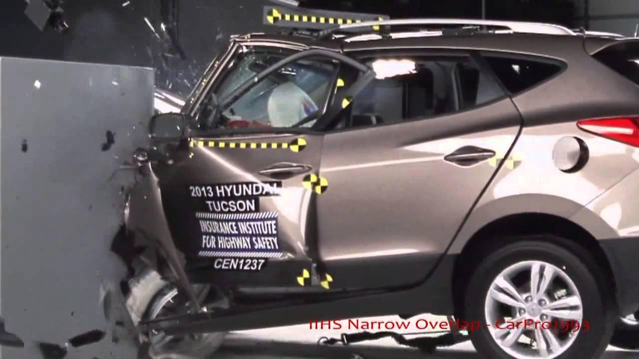 2013 Hyundai Tucsonix35 Amp KIA Sportage IIHS NarrowSmall