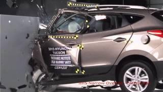 2013 Hyundai Tucson/ix35 & KIA Sportage IIHS Narrow/Small Overlap Frontal Offset (Poor Rating)
