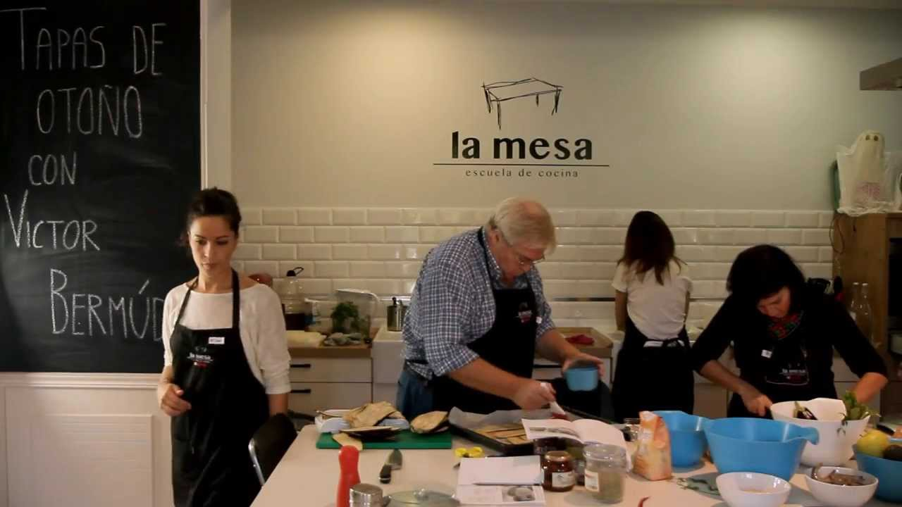 La Mesa, Escuela de Cocina. Food & Groove Nº5. - YouTube