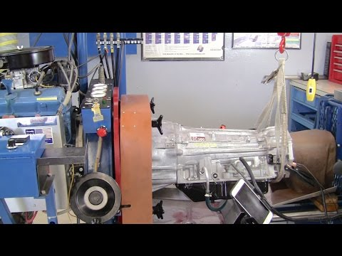 Toyota 6 Speed Transmission Dynamometer Test