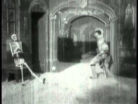 The First Horror Film, George Méliès' The Haunted Castle (1896)