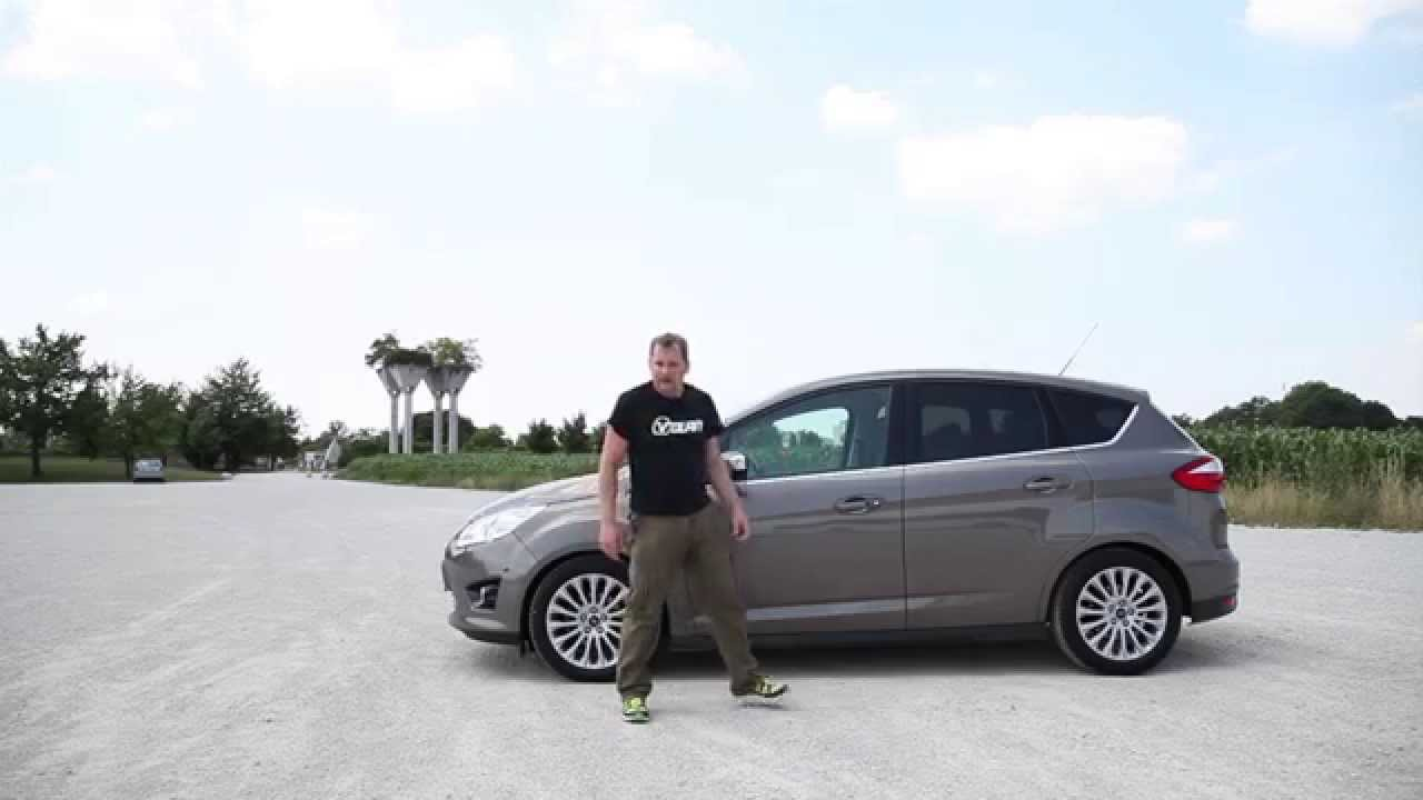 2015 Ford C Max 1 0 Ecoboost Titanium Test Youtube