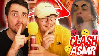 ON DOUBLE DES CLASHS EN ASMR - ft AMIXEM