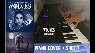[BEST! Piano Cover] WOLVES - Selena Gomez X Marshmello (FREE Sheet)