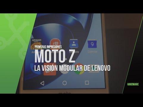 Moto Z y MotoMods, primeras impresiones