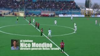 """Mondino: """"I giovani tarantini al centro del progetto Hellas Taranto"""""""